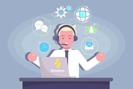 Binomo सपोर्ट से कैसे संपर्क करें