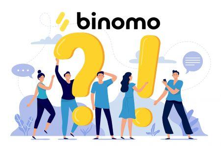 Binomo में सत्यापन के अक्सर पूछे जाने वाले प्रश्न