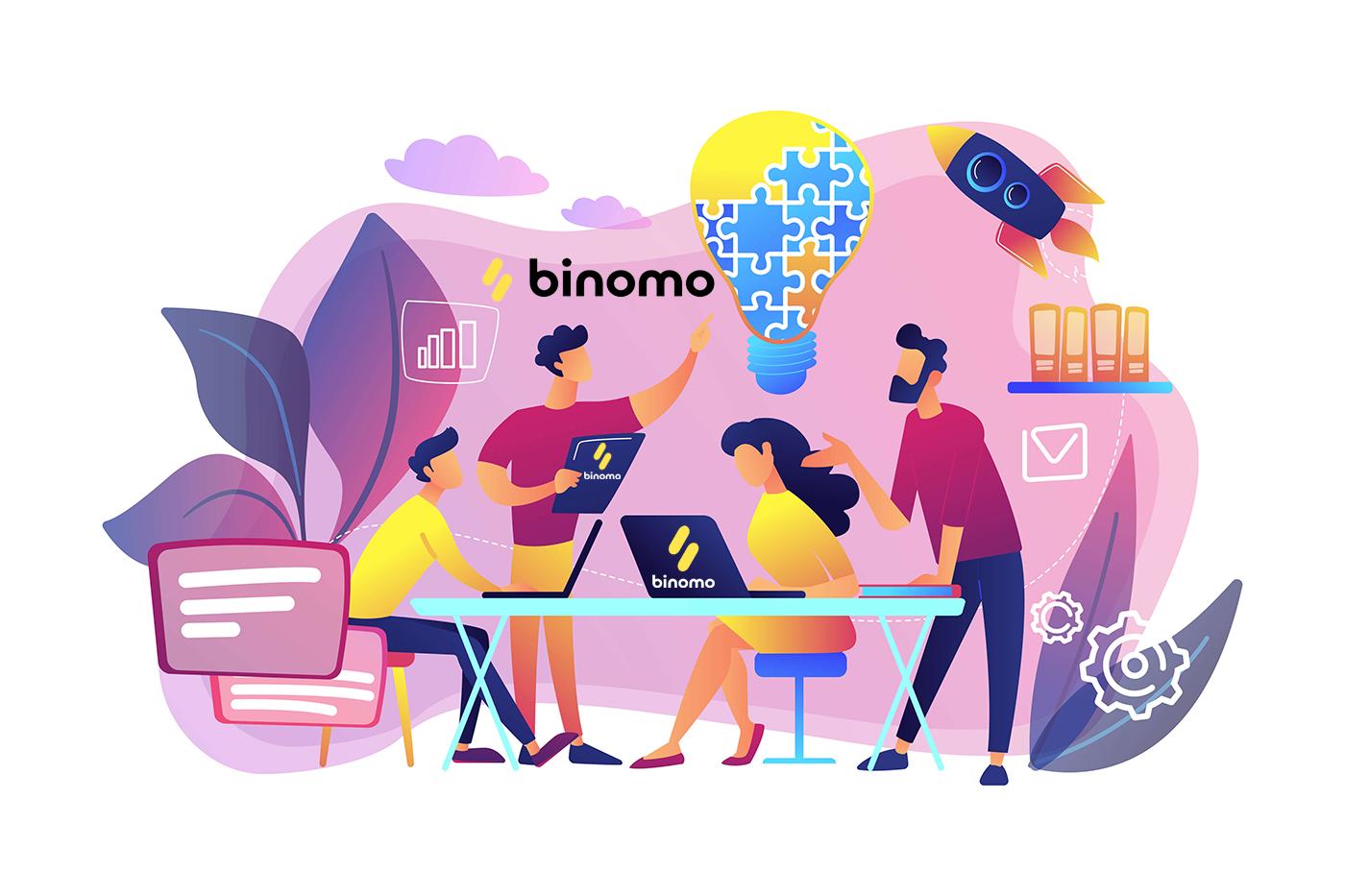 Affiliate Program से कैसे जुड़ें और Binomo में भागीदार कैसे बनें?