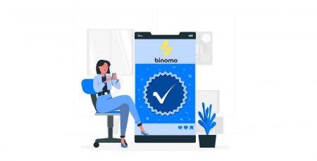 Binomo में खाता कैसे सत्यापित करें