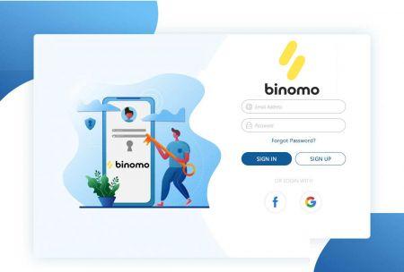 Binomo में अकाउंट कैसे रजिस्टर करें