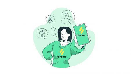 Binomo पर खाता और जमा राशि कैसे खोलें