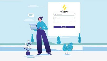 Binomo में लॉग इन और अकाउंट कैसे वेरीफाई करें