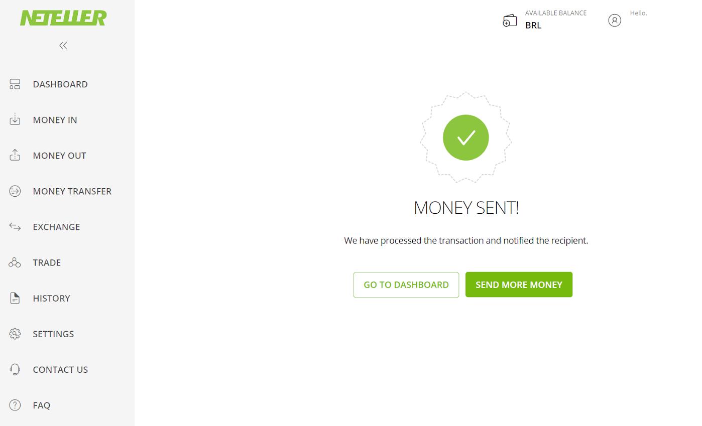 नेटेलर के माध्यम से Binomo में फंड जमा करें