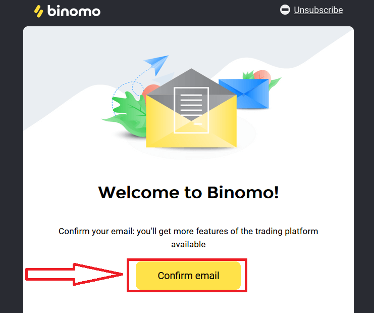Binomo पर डेमो अकाउंट कैसे खोलें