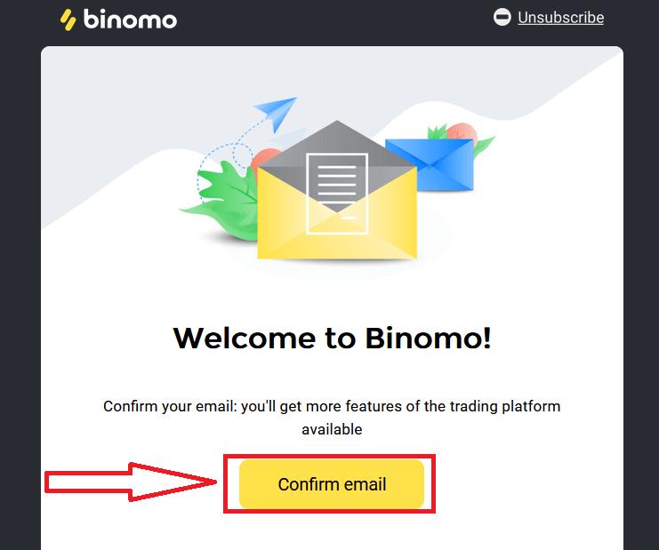 Binomo पर रजिस्टर और फंड कैसे निकालें